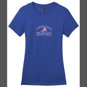 - DM104L Ladies Perfect Weight Crew Tee