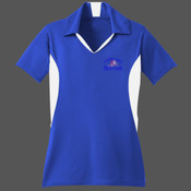 - ST655 Sport-Tek® Ladies Side Blocked Micropique Sport-Wick® Polo