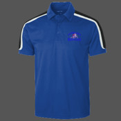 - ST658 Tricolor Shoulder Micropique Sport Wick® Polo