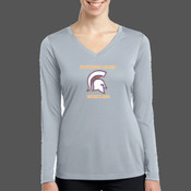 - LST353LS Ladies Long Sleeve V Neck PosiCharge™ Competitor™ Tee