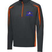 - ST851 Sport Wick ® Stretch 1/2 Zip Colorblock Pullover