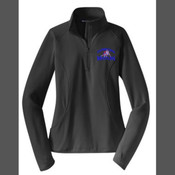 - LST850 Ladies Sport Wick ® Stretch 1/2 Zip Pullover