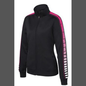 - LST93 Ladies Dot Sublimation Tricot Track Jacket