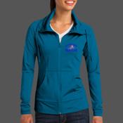 - LST852 Ladies Sport Wick ® Stretch Full Zip Jacket