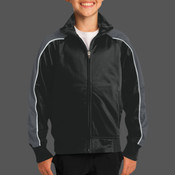 - YST92 Youth Piped Tricot Track Jacket